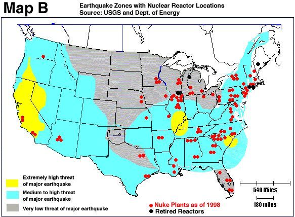 Earthquakes And Volcano Us Map Map Us Volcanoes Map Earthquake Zones