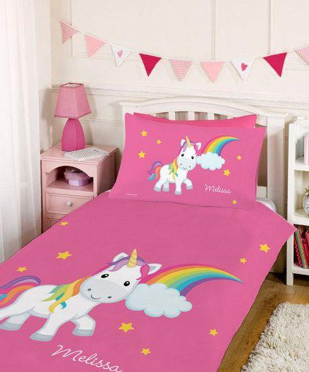 Rainbow Unicorn Personalized Duvet Set Melissa S Diy