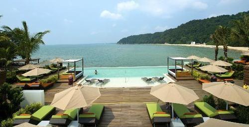 Cherating beach club med Malaysia