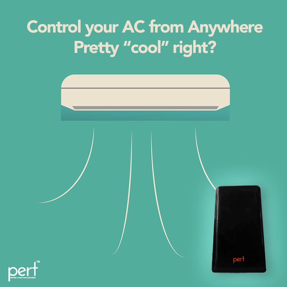"""Control your AC from anywhere. Pretty """"cool"""" right?"""