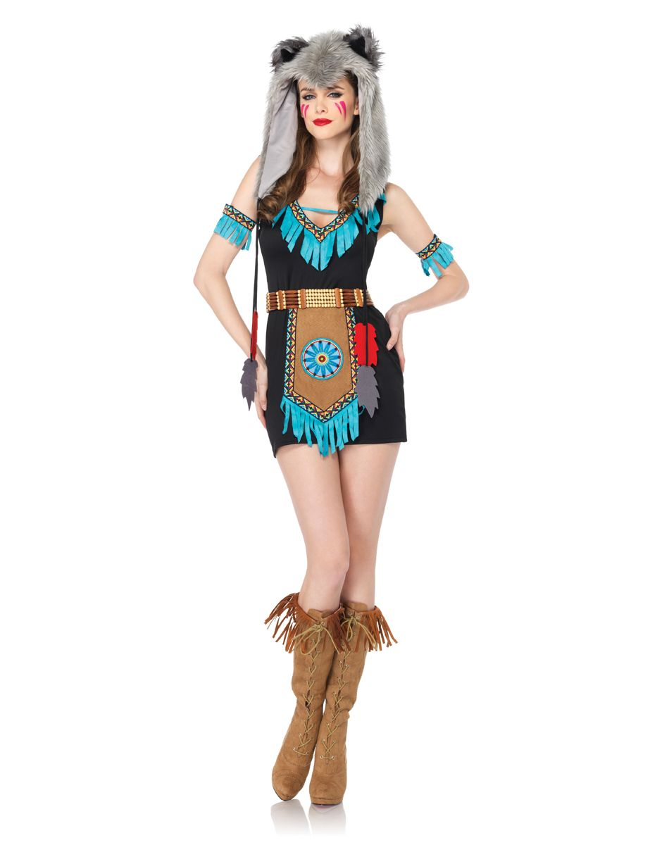 60wolf warrior adult womens costume spirit halloween