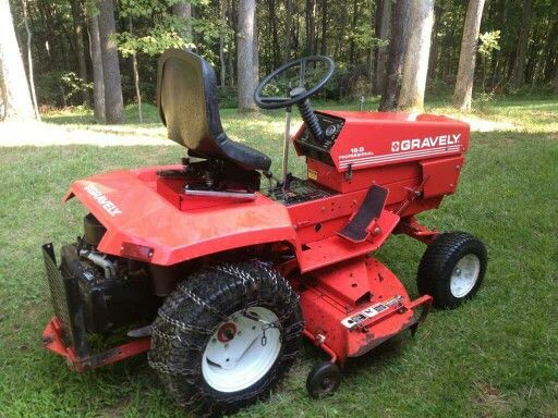 Pin By Steve On Gravely S Lawn Mower Tractor Mower