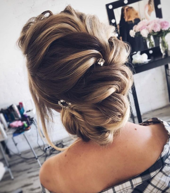 Simple Wedding Hair Ideas: Gorgeous Messy Bridal Hair Updos