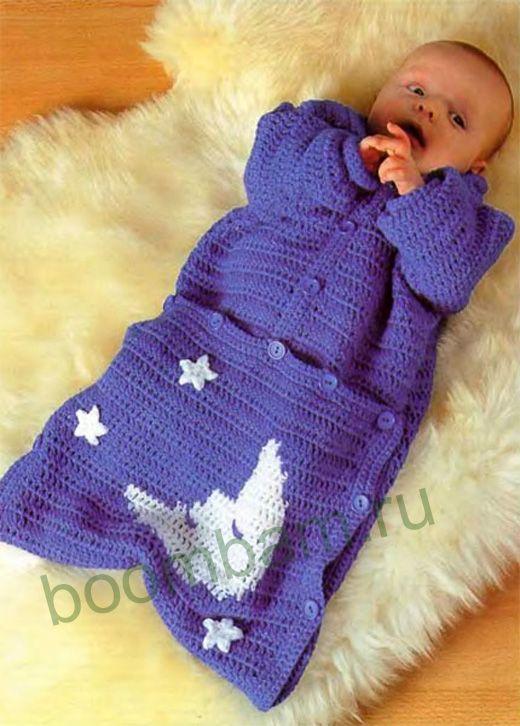 вязание крючком детям | Pinterest | Babykleider