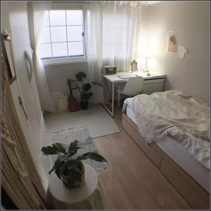 Minimalistbedroom Decor: 147+ Minimalist Storage Ideas For Your Small Bedroom 6