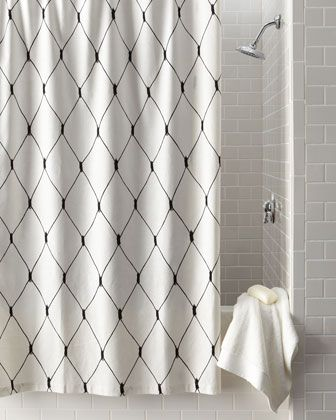 Black White Shower Curtains By Legacy Home At Horchow Black