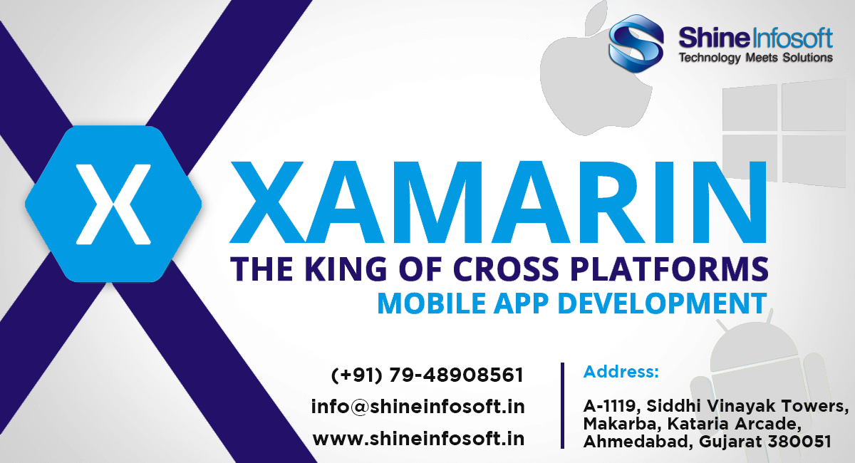 shine infosoft provides high quality xamarin app