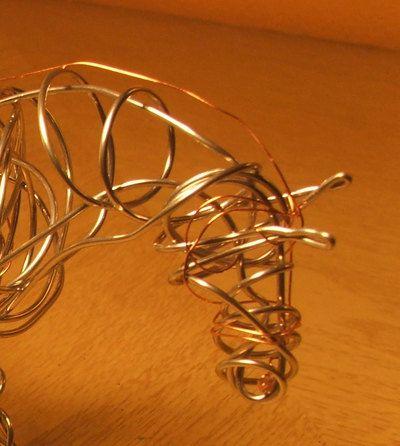 Wire Horse Sculpture. $95.00, via Etsy.