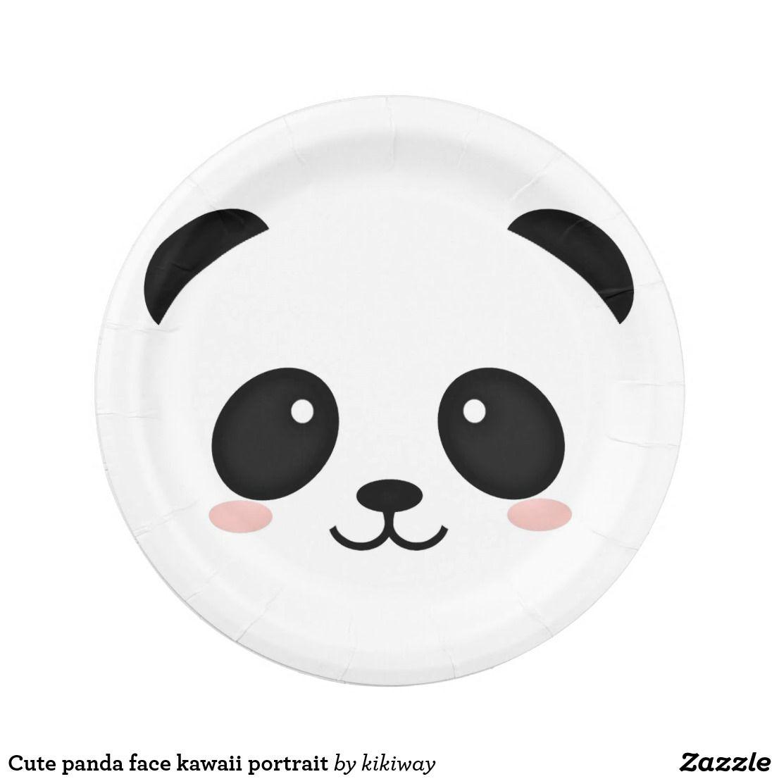 Cute Panda Face Kawaii Portrait Cute Panda Wallpaper Panda Wallpapers Cute Panda