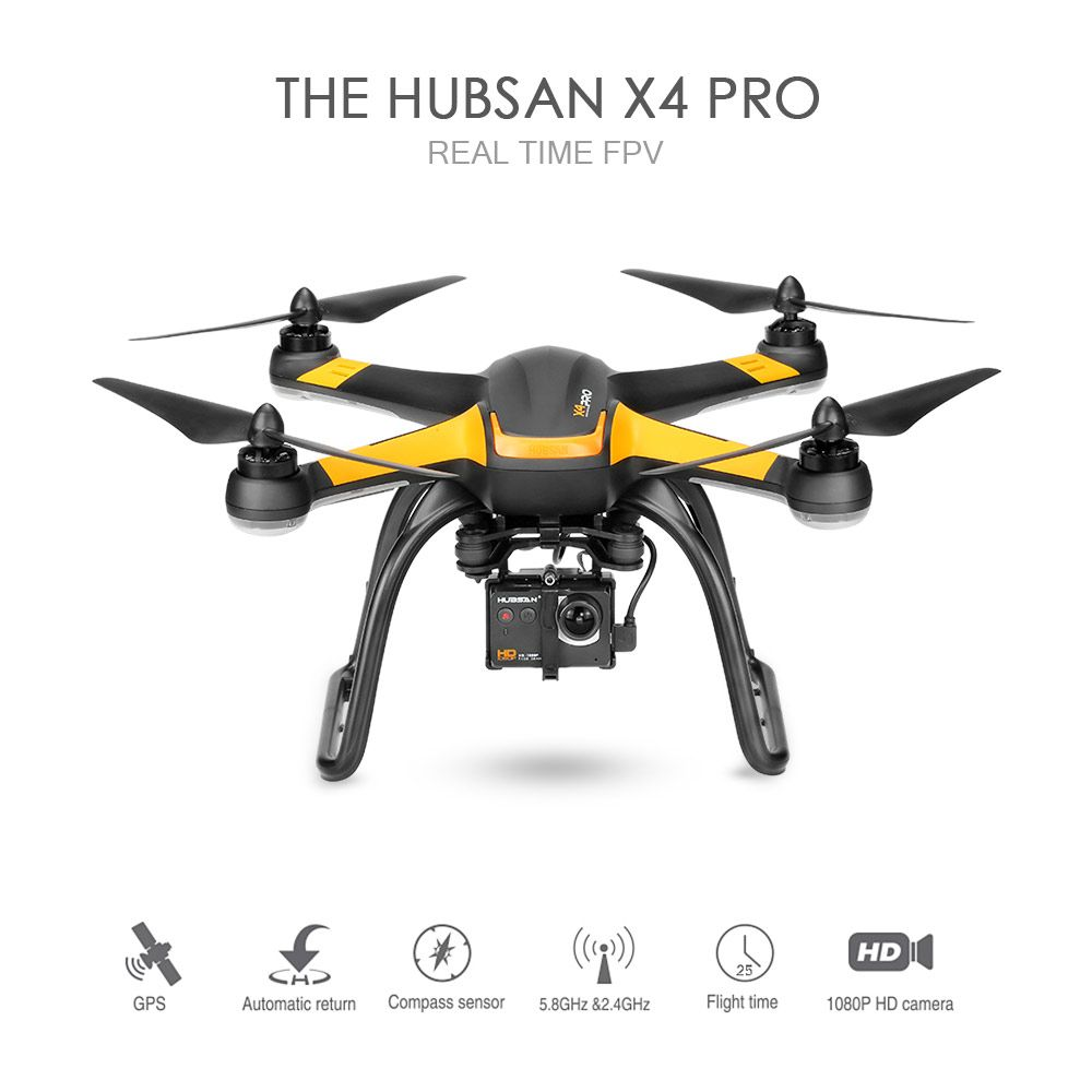 Only US$368.99, eu Hubsan H109S X4 PRO 5.8G FPV Drone - - Tomtop.com