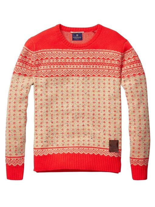 A really great Christmas sweater... Fair Isle Pull In Bright ...