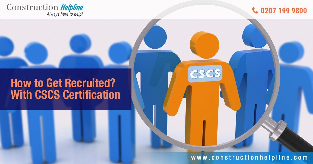 You Need To Check The Card Types On The Website Of Cscs To Find