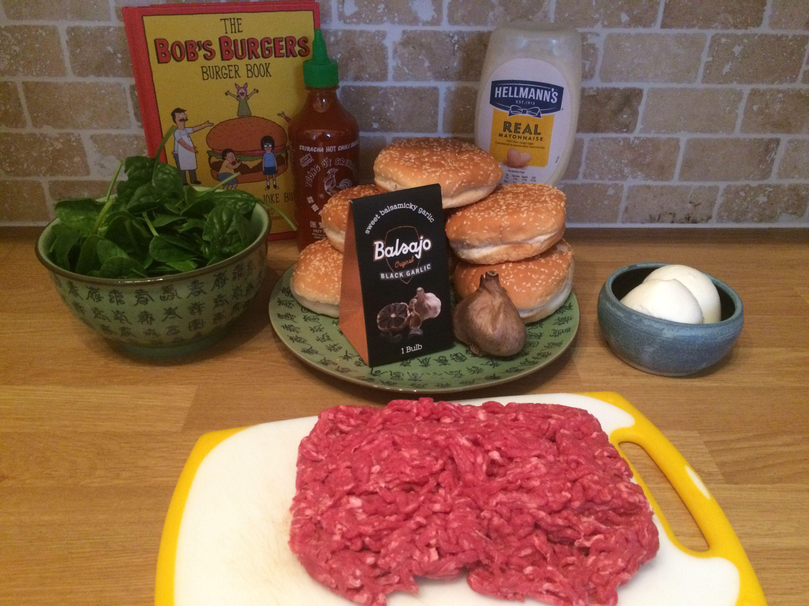 Cool bobs burgers recipe book week 9 bet it all on black garlic cool bobs burgers recipe book week 9 bet it all on black forumfinder Images