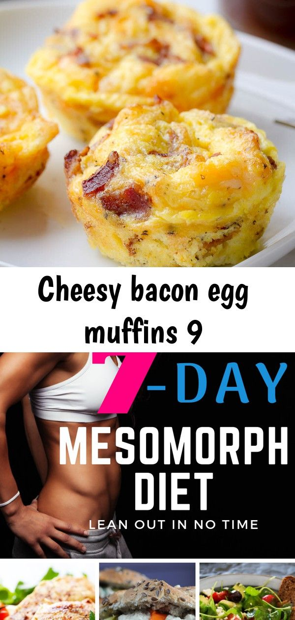 Cheesy bacon egg muffins 9