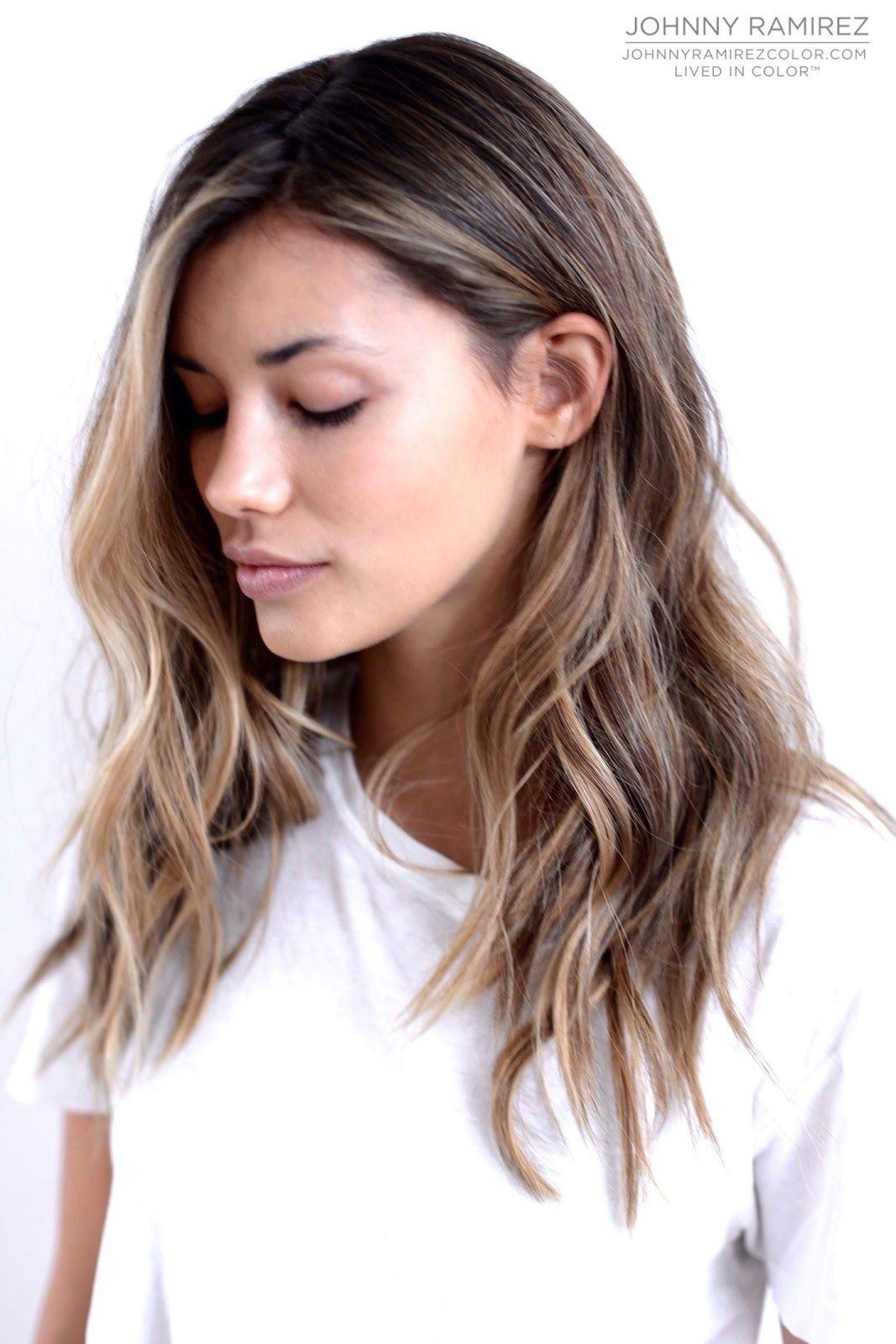 Chloemareep Haarschnitt Mittellange Haare Braune Haare