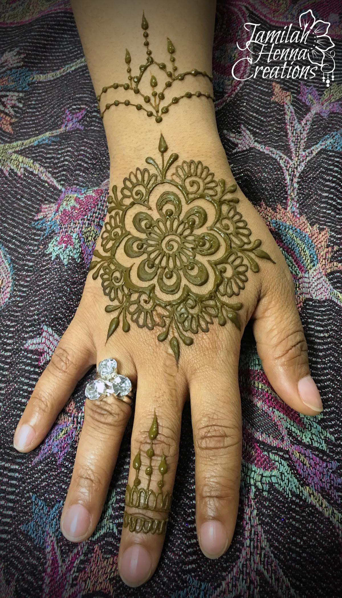 Mandala Jewelry Henna Www Jamilahhennacreations Com Henna Patterns