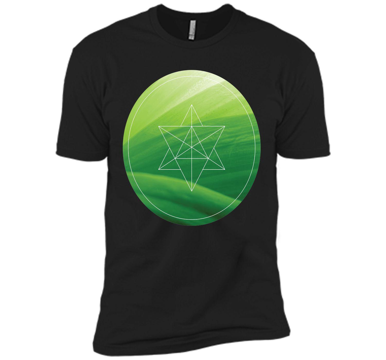Sacred-Geometry Leaf T-Shirt