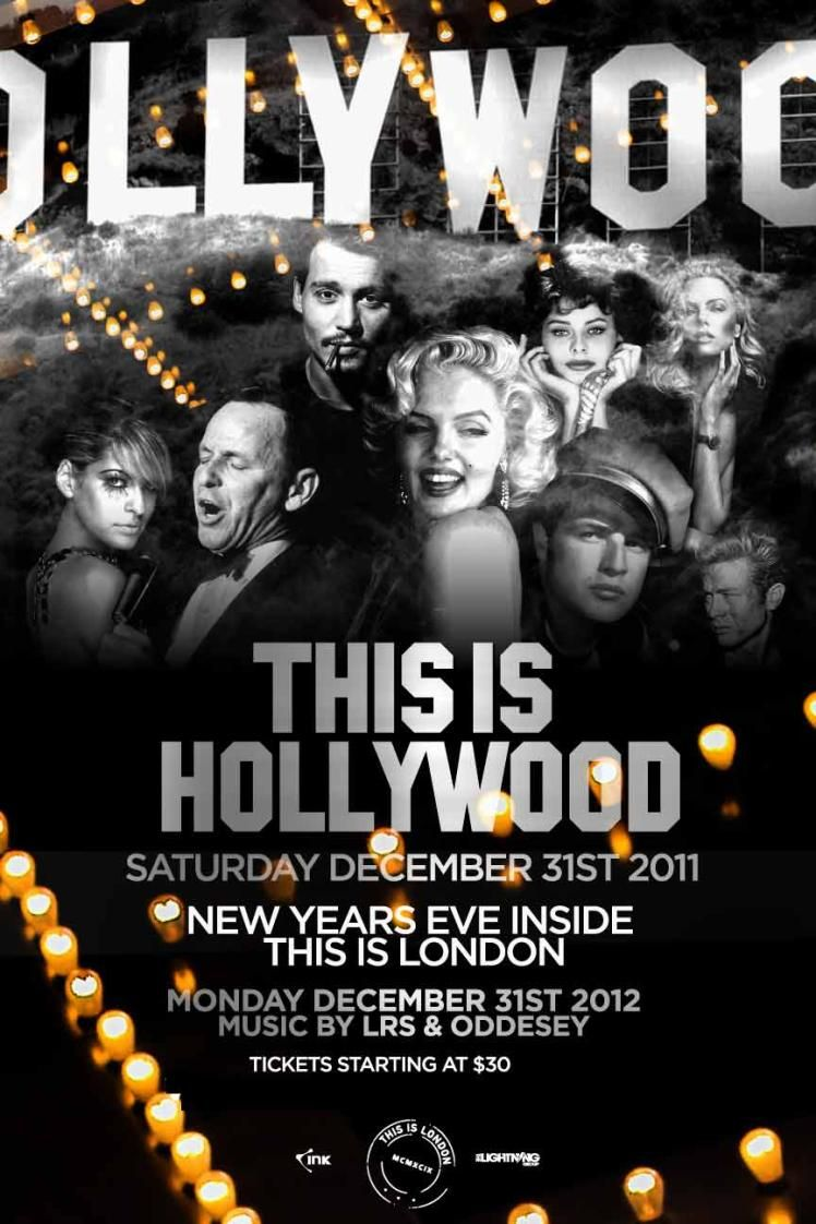 THIS IS HOLLYWOOD PURCHASE TICKETS NOW ON WWW.NYETORONTO