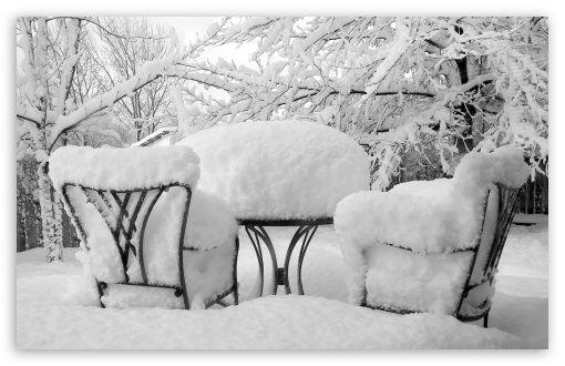 winter furniture