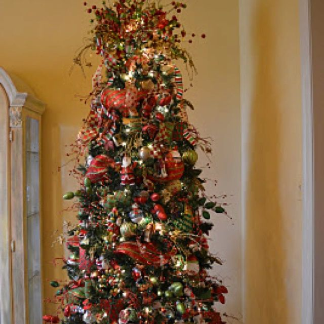 How To Decorate A Christmas Tree With Mesh Ribbon Zrhcsq Home
