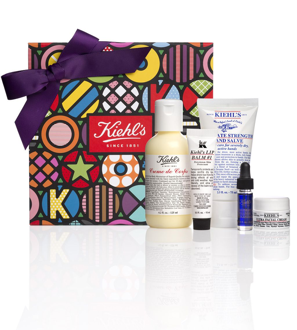 Kiehls classic collection holiday gift sets gift box