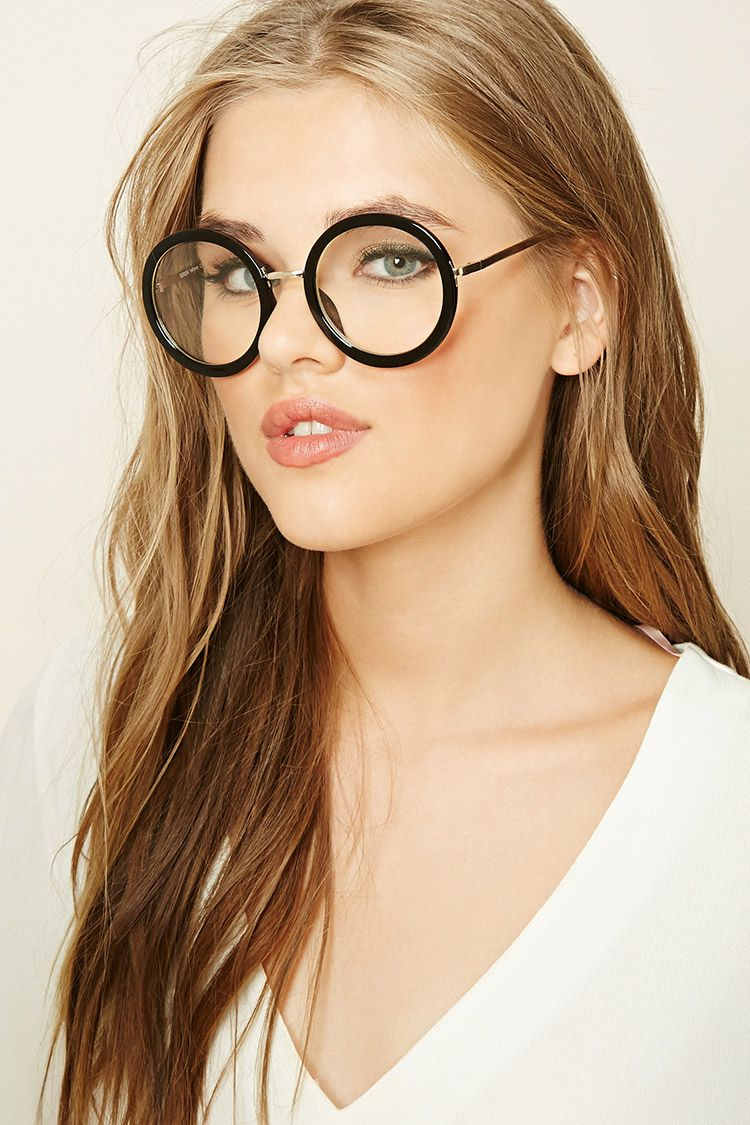439ac0d8cc75a A pair of readers featuring round lenses with a glossy and high polish  frame.