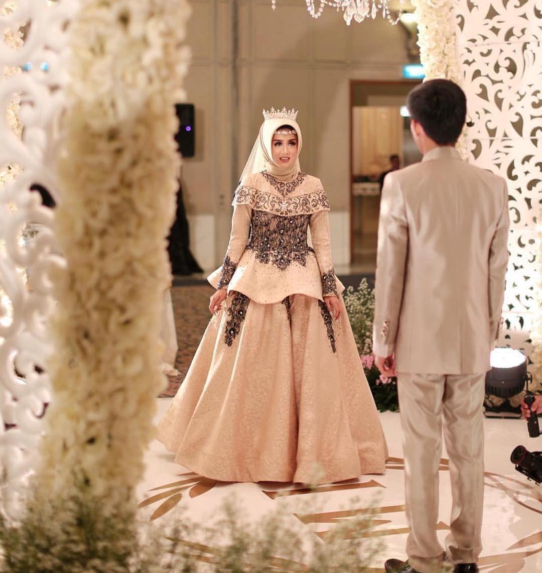 11 Model Baju Pengantin Muslim 11 Desain Elegan Cantik Terindah