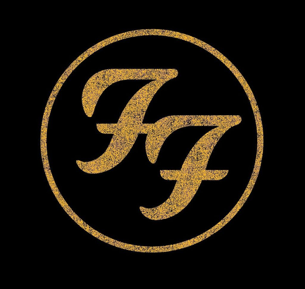 Foo Fighters Store Distressed Logo T Shirt Jazz Music Graphics