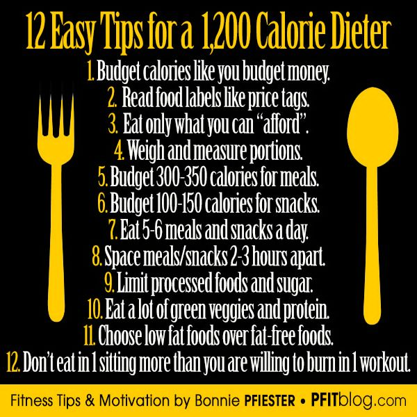 Diet tips and motivation