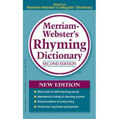 Merriam webster merriam webster rhyming dictionary book rhyming merriam webster merriam webster rhyming dictionary book fandeluxe