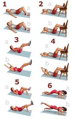 Rutina de ejercicio en casa para mantenerte en forma deporte estudiantes umayor ejercicios - Como hacer pilates en casa ...