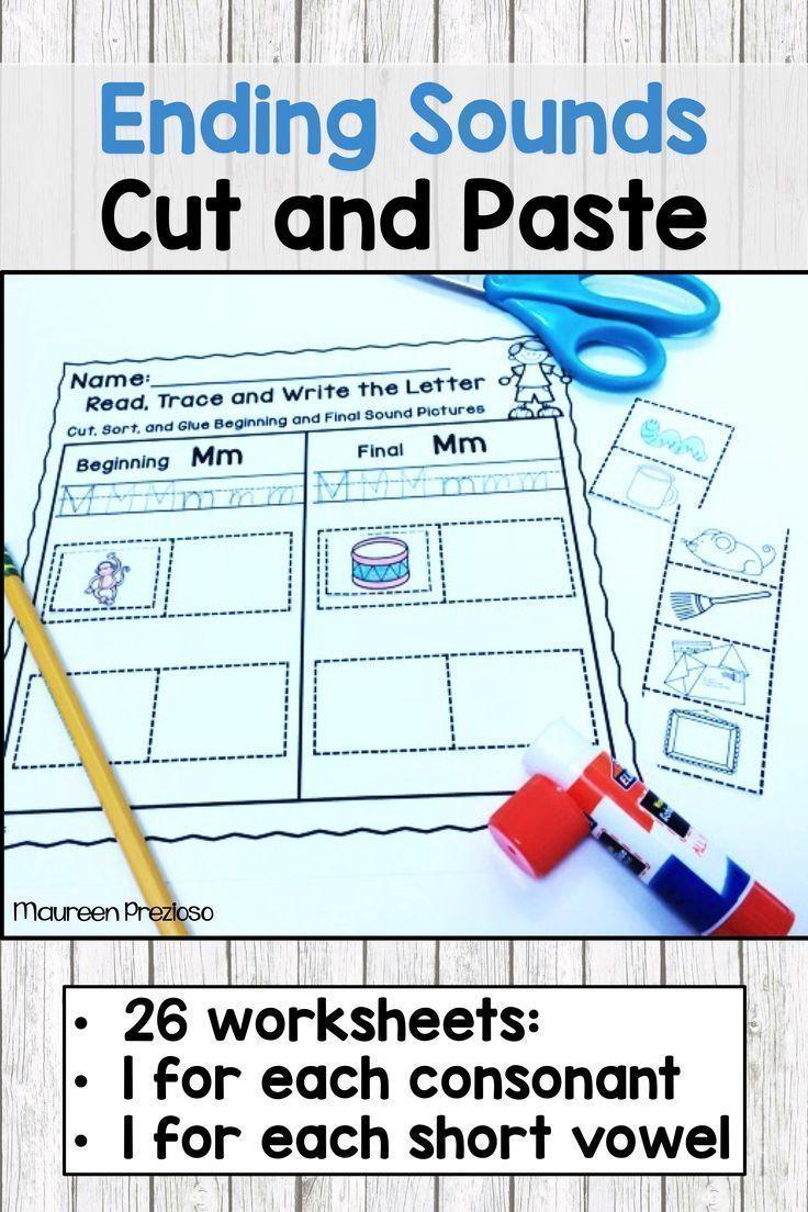 Ending Sound Worksheets | Group work, Morning work and Worksheets