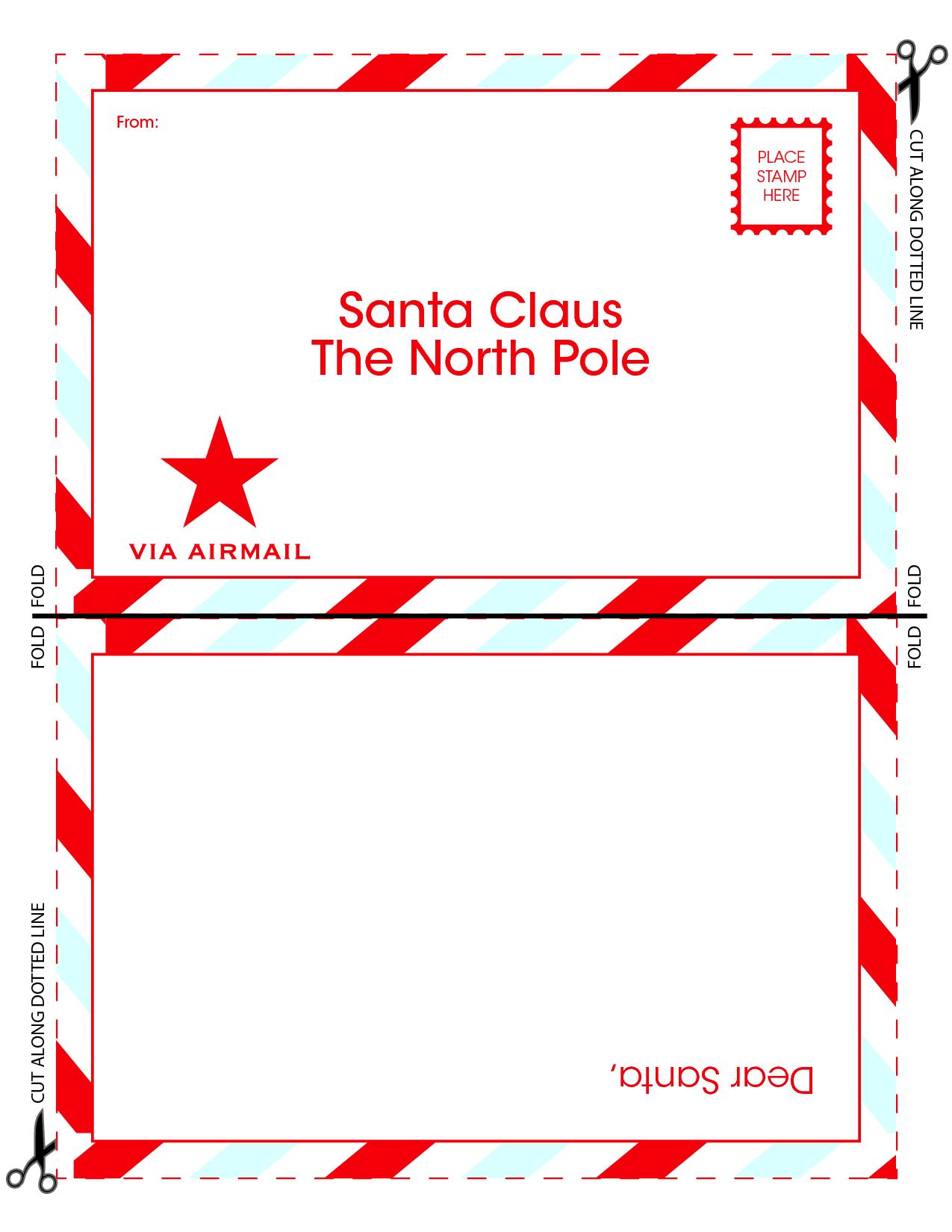 letter to santa templates