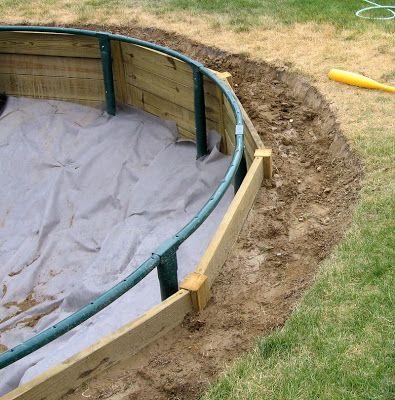 An Inground Trampoline Design | Sunken trampoline ...