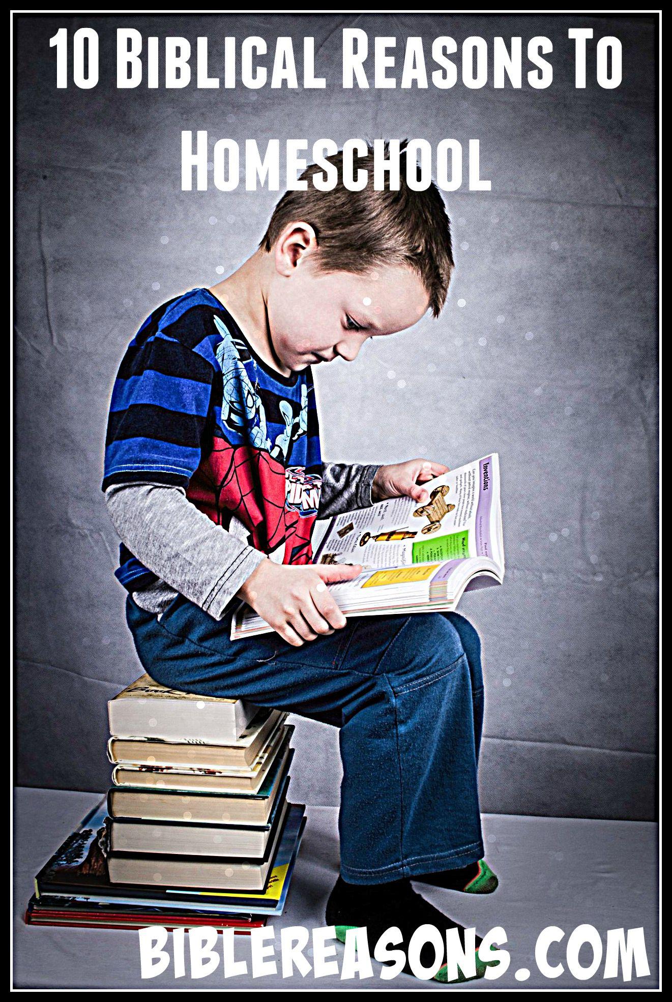 Biblical Reasons To Homeschool
