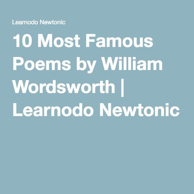 Most Famous Poems 6