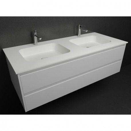 vasque double toronto meuble corian by dupont partir de 1725 150 de remise jusqu 39 au. Black Bedroom Furniture Sets. Home Design Ideas