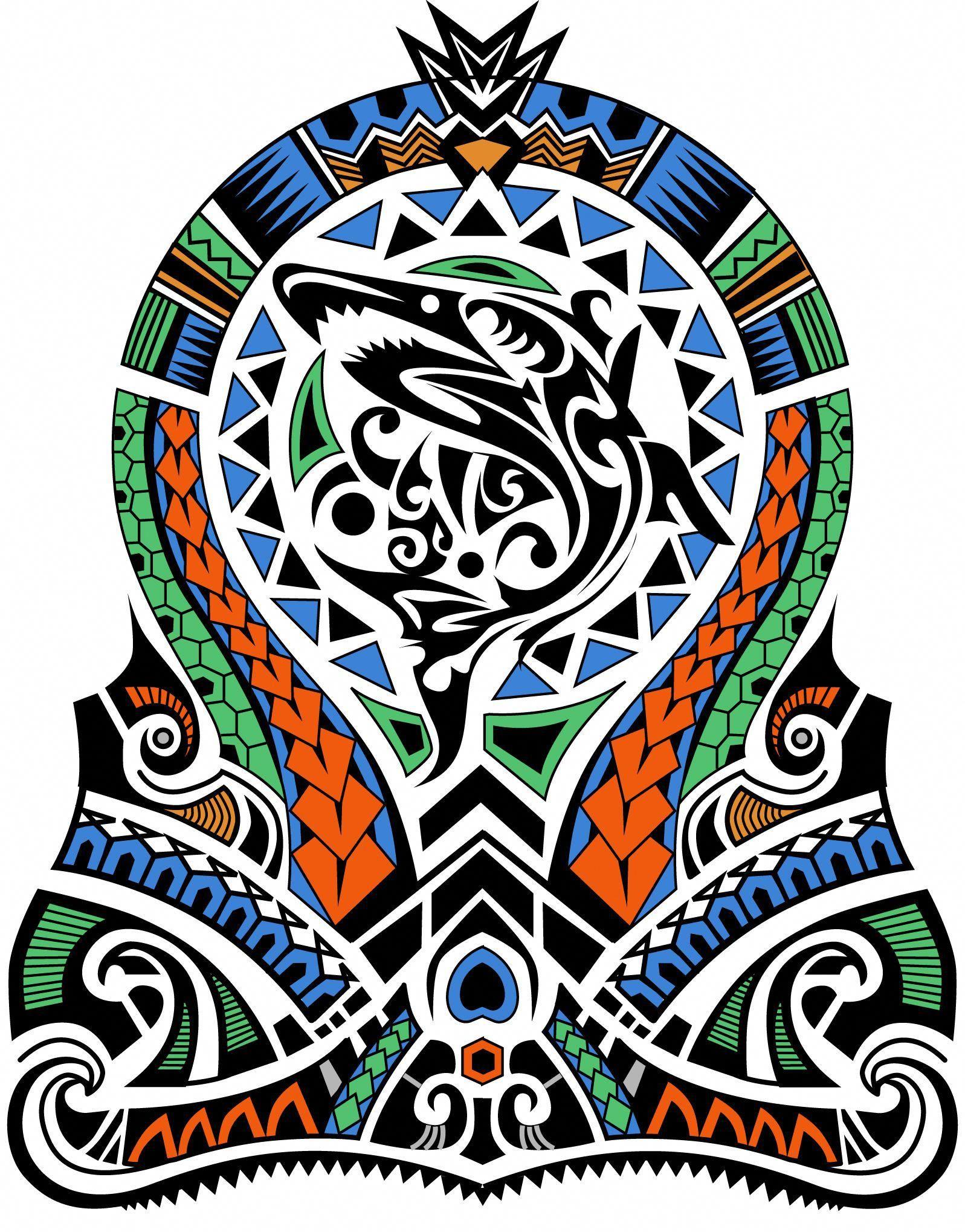 Polynesian tattoos Half sleeve tattoos designs, Half
