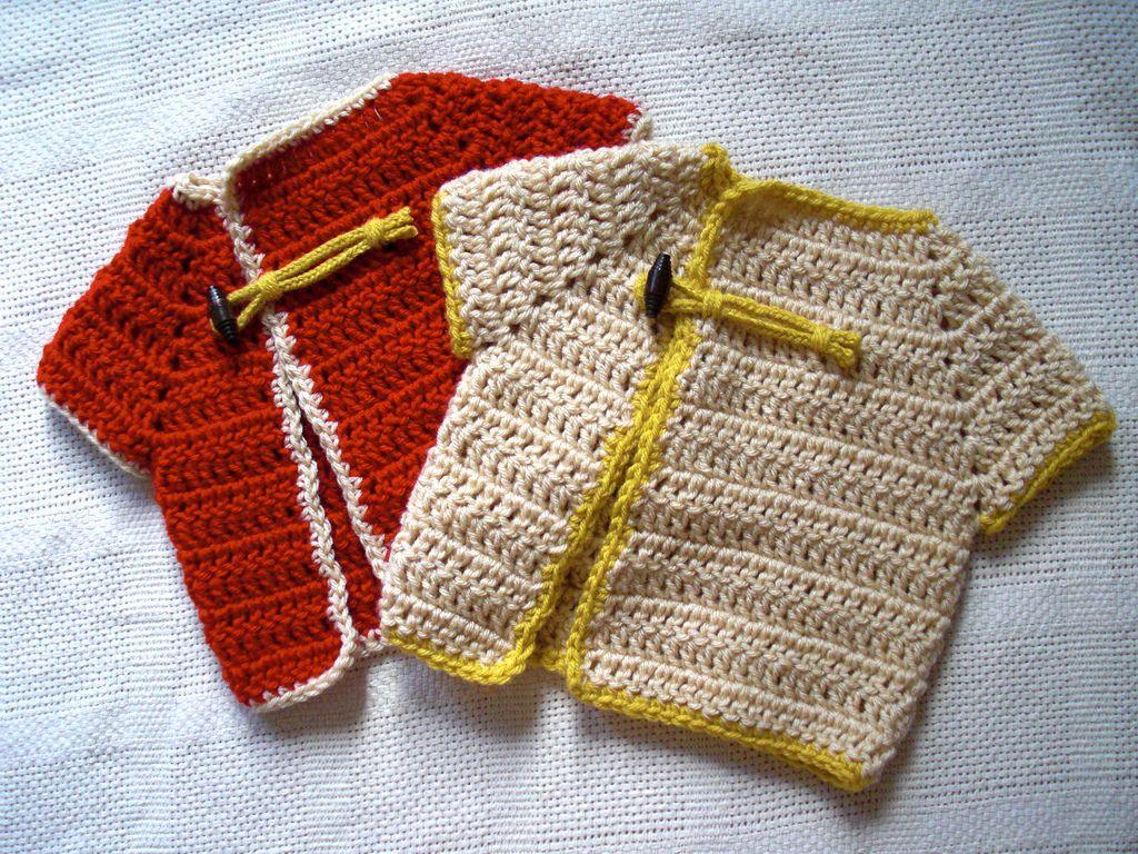Bombay Love Baby Cardigan By Rima Aranha - Free Crochet Pattern ...