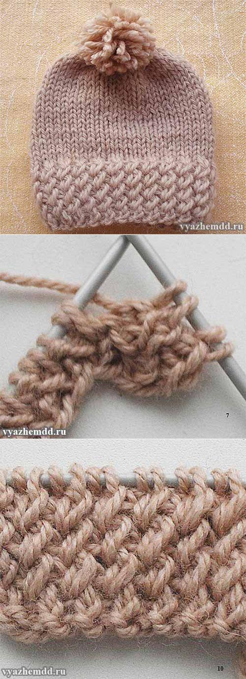 вязание | Hermosa, Puntos y Gorros