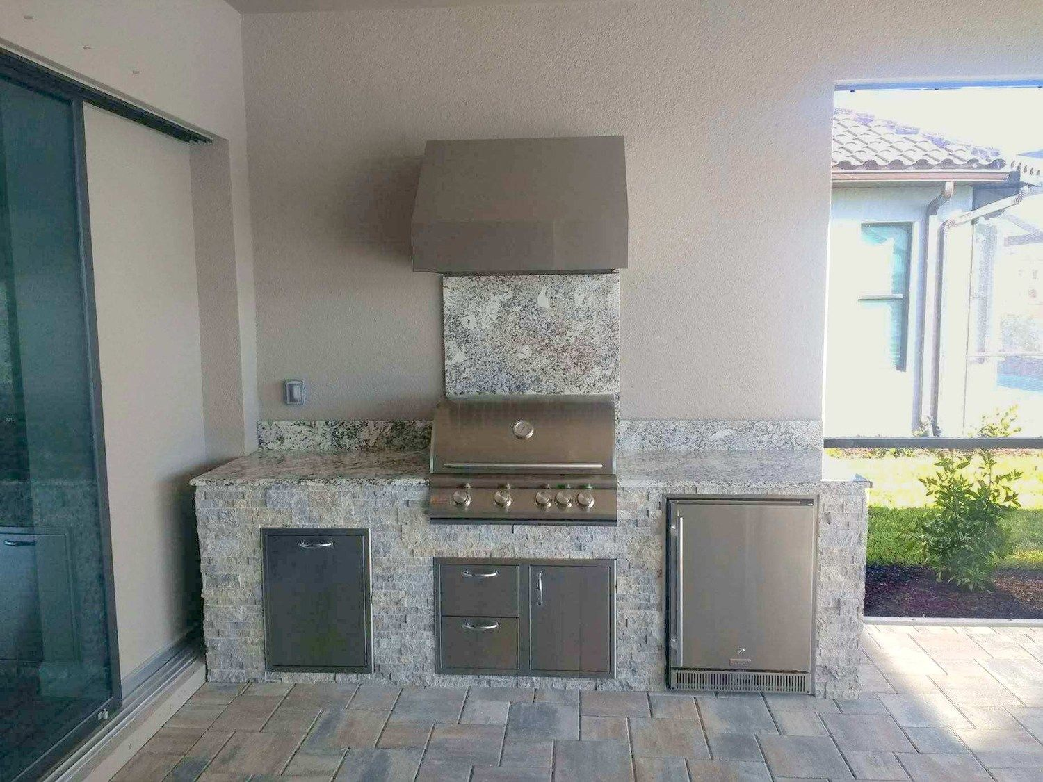The Fire Magic Outdoor Kitchen With Images Kitchen Builder