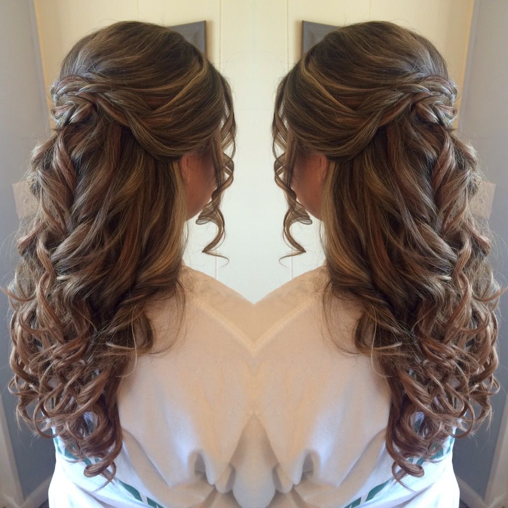 Half Up Half Down Prom Hair For Similar Content Follow Me