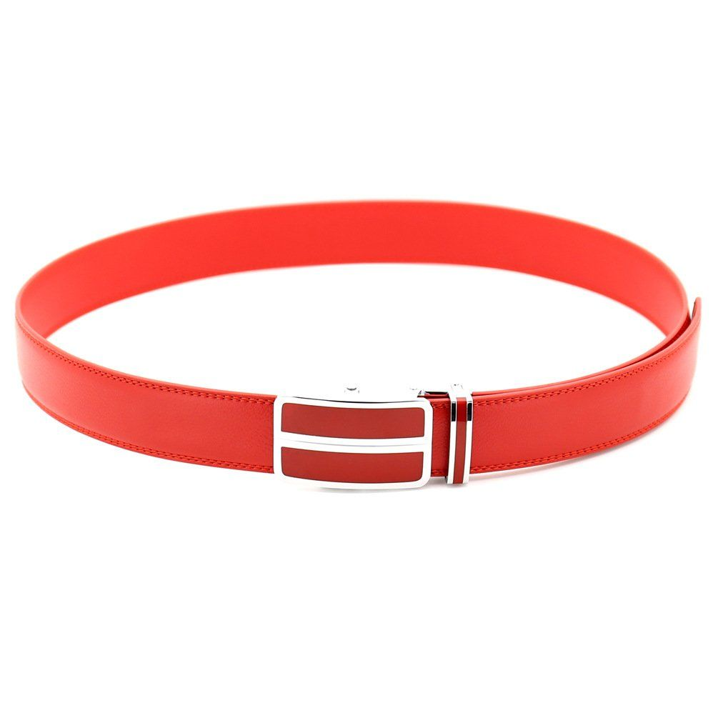 c587ba21ac191 ITIEZY Mens Leather Ratchet Belt Automatic Sliding Buckle Designer Belt For  Men -- You can obtain even more information by clicking on the image.