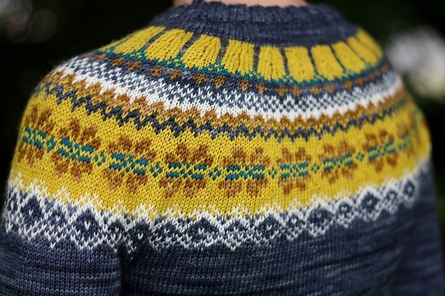 142-1 Bergen by DROPS, as knit by Nasti....