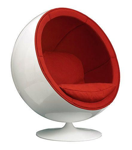 made me fall in love with #chair #design...The Classic Ball
