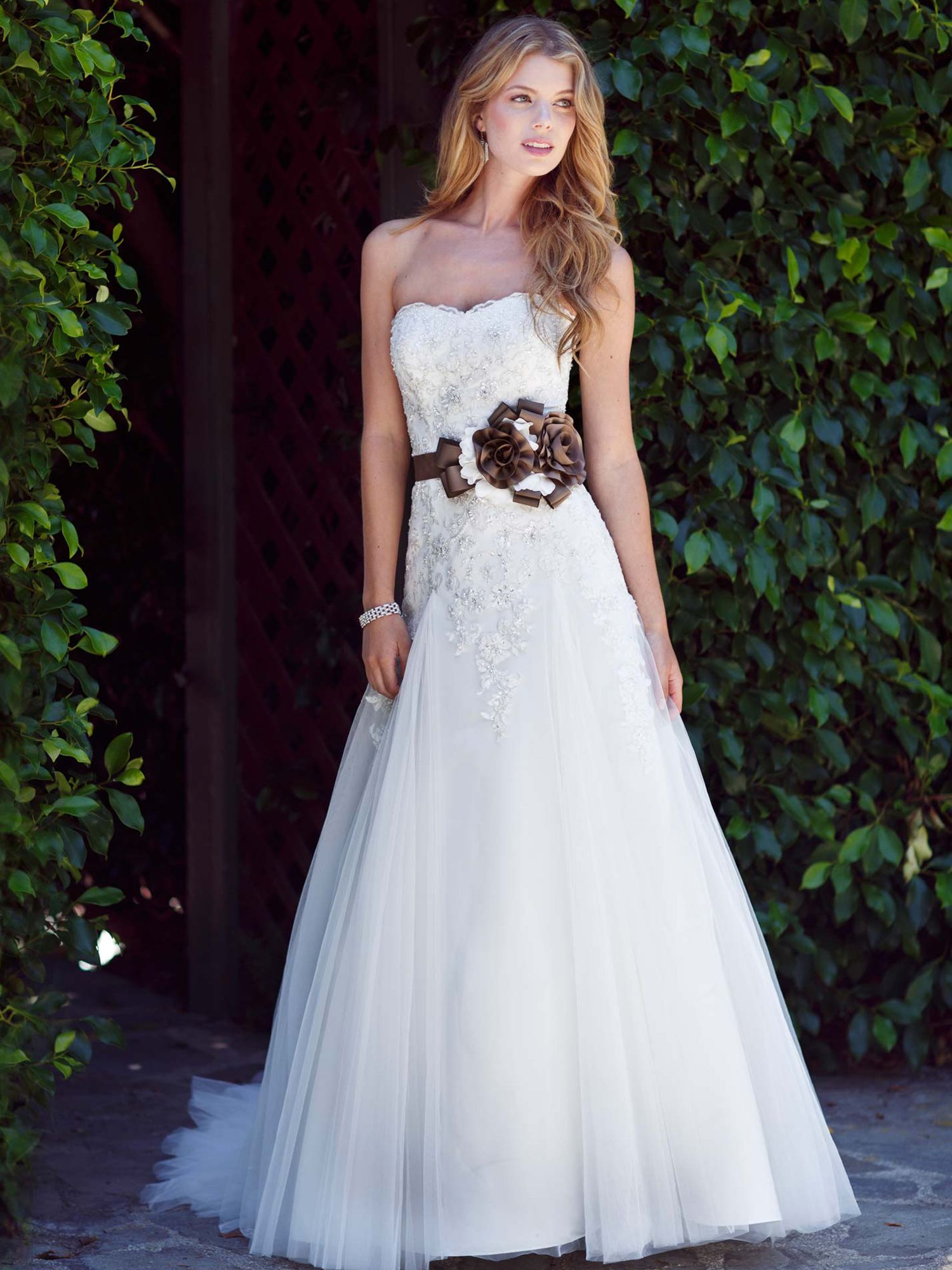 Available at rebeccas bridal boutique north syracuse ny www kenneth winston wedding dresses style 1498 would be really pretty wo the ugly sash replace with rhinestone sash ombrellifo Choice Image
