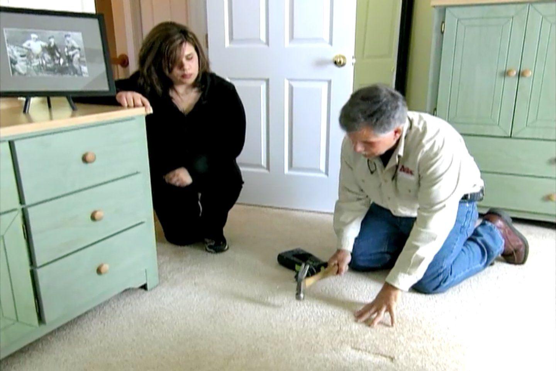 How To Repair Squeaky Floors Through Carpeting With Images Squeaky Floors Fix Squeaky Floors Squeeky Floors