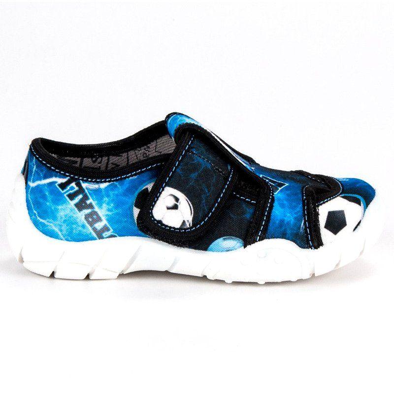 Kapcie Dzieciece Dla Dzieci Raweks Niebieskie Domowe Buty Na Rzep Raweks Shoes Sketchers Sneakers Sneakers