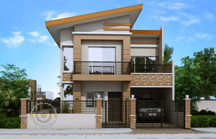 Modern House Plan Dexter Pinoy Eplans Modern House Plans Modern Bungalow House Small House Design