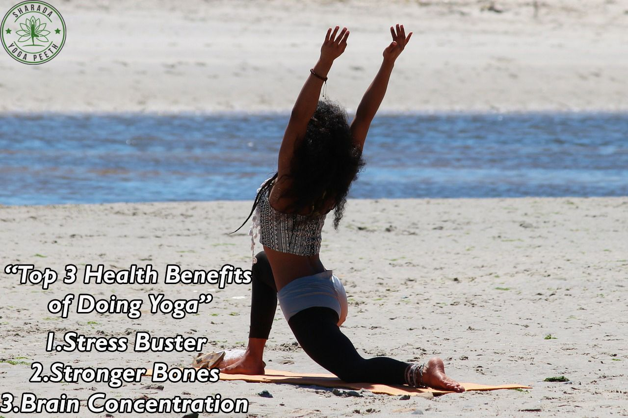 Top 3 Health Benefits of Doing Yoga #yoga #yogattc #yogainspiration #yogalife #fitness #healthy